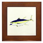 Yellowfin Tuna (Allison Tuna) Framed Tile