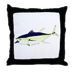 Yellowfin Tuna (Allison Tuna) Throw Pillow