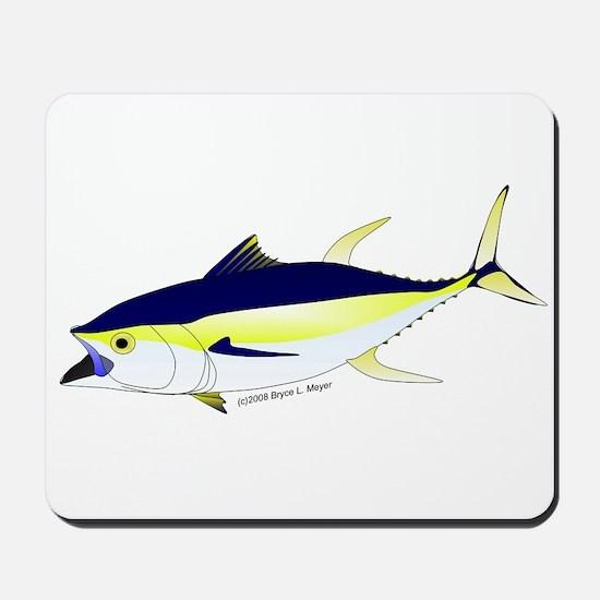 Yellowfin Tuna (Allison Tuna) Mousepad