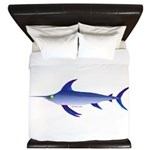 Swordfish (Lilys Deep Sea Creatures) King Duvet