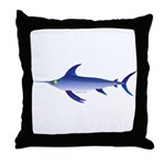 Swordfish (Lilys Deep Sea Creatures) Throw Pillow