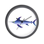 Swordfish (Lilys Deep Sea Creatures) Wall Clock