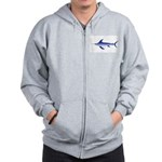 Swordfish (Lilys Deep Sea Creatures) Zip Hoodie