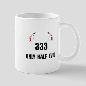 333 Half Evil Mug