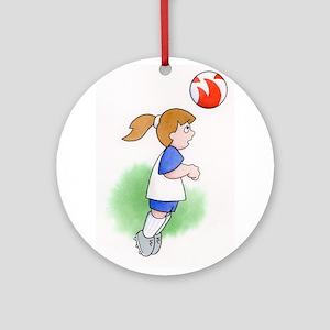 Soccer! Ornament (Round)