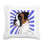 Pop Art Boxer Square Canvas Pillow