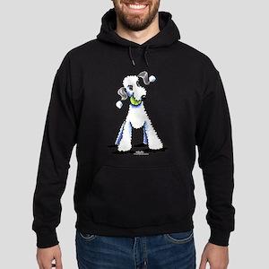 Bedlington Terrier Play Hoodie (dark)