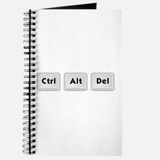 Ctrl Alt Del Key Journal