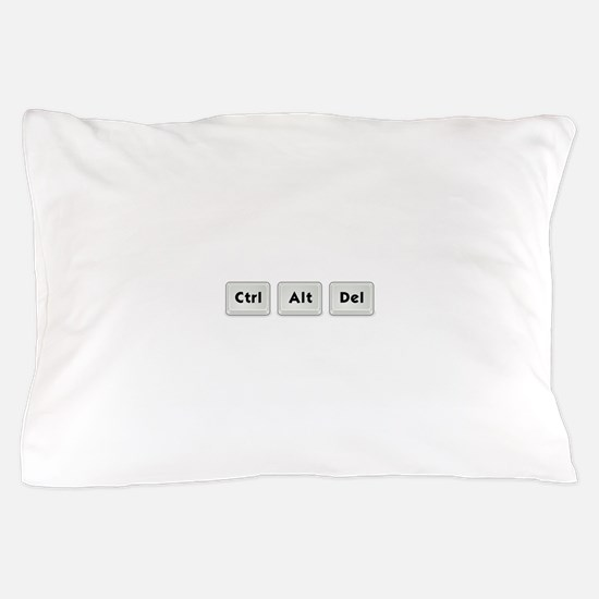Ctrl Alt Del Key Pillow Case