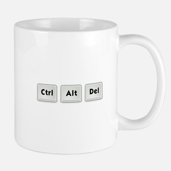 Ctrl Alt Del Key Mug