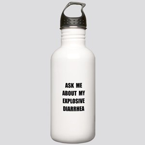 Explosive Diarrhea Stainless Water Bottle 1.0L