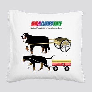 NASCARTING! Square Canvas Pillow