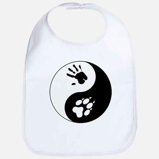 Wolf Therian Ying Yang Bib