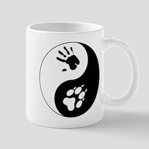 Wolf Therian Ying Yang Mug