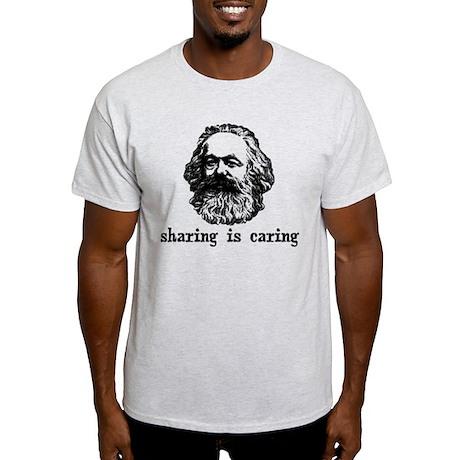 Marx: Sharing is Caring Light T-Shirt