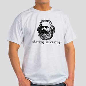 Marx: Sharing is Caring Light T-Shirt