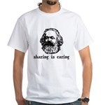 Marx: Sharing is Caring White T-Shirt