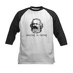 Marx: Sharing is Caring Kids Baseball Jersey