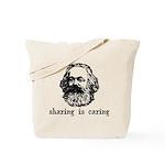 Marx: Sharing is Caring Tote Bag