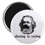 Marx: Sharing is Caring Magnet