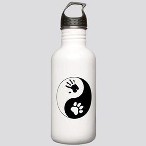 Big Cat Therian Ying Yang Stainless Water Bottle 1