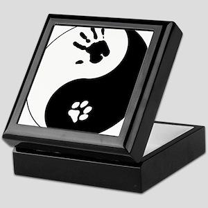 Cat Therian Ying Yang Keepsake Box