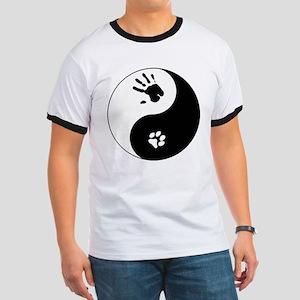 Cat Therian Ying Yang Ringer T