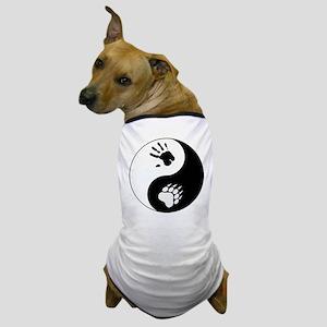 Bear Therian Ying Yang Dog T-Shirt
