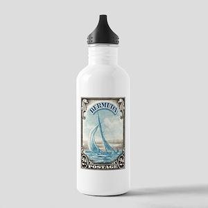 1938 Bermuda Yacht Postage Stamp Stainless Water B