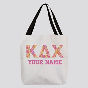 Kappa Delta Chi Letters Polyester Tote Bag
