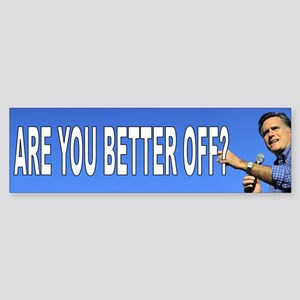 Romney 2012 Sticker (Bumper)