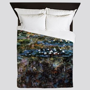 Claude Monet Water garden at Giverny Queen Duvet