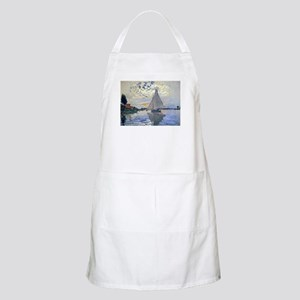 Claude Monet Sailboat Apron
