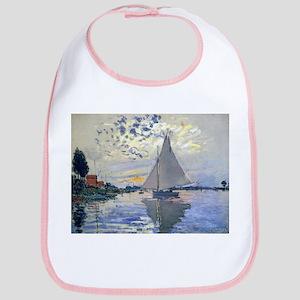 Claude Monet Sailboat Bib