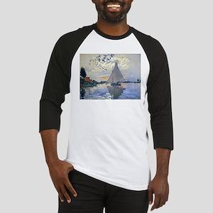 Claude Monet Sailboat Baseball Jersey