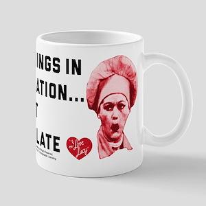 I Love Lucy Moderation Chocolate 11 oz Ceramic Mug