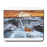 A Crab @ Thor's Well, Oregon Mousepad