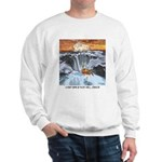 A Crab @ Thor's Well, Oregon Sweatshirt