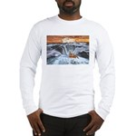 A Crab @ Thor's Well, Oregon Long Sleeve T-Shirt