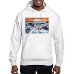 A Crab @ Thor's Well, Oregon Hooded Sweatshirt