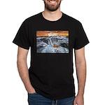 A Crab @ Thor's Well, Oregon Dark T-Shirt