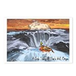 A Crab @ Thor's Well, Oregon Postcards (Package of