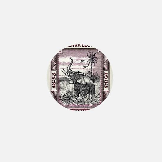 Cute Sierra leone Mini Button