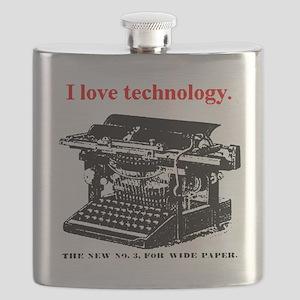ztypewriter01 Flask