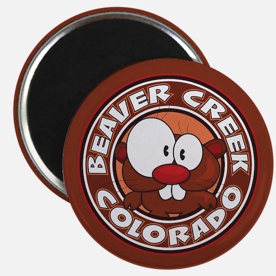 Beaver Creek Circle Magnet
