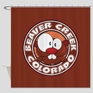 Beaver Creek Circle Shower Curtain