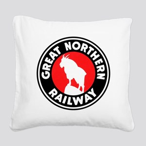 Great Northern Square Canvas Pillow