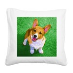 Pembroke Welsh Corgi Square Canvas Pillow