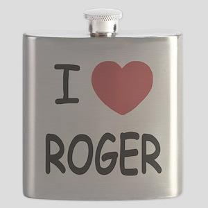 I heart ROGER Flask