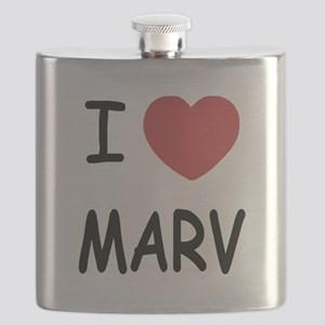 I heart MARV Flask